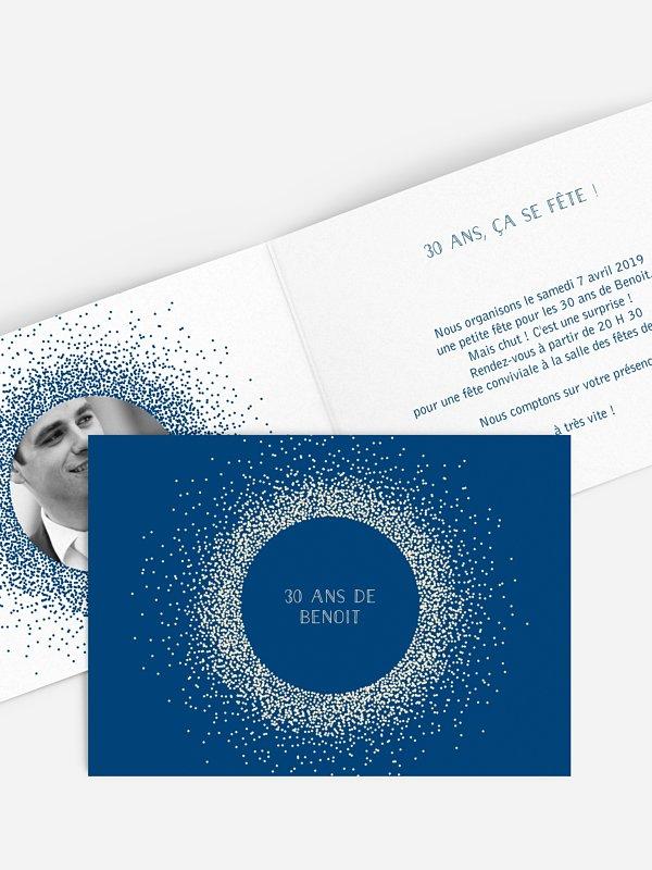 invitation anniversaire 30 Magique