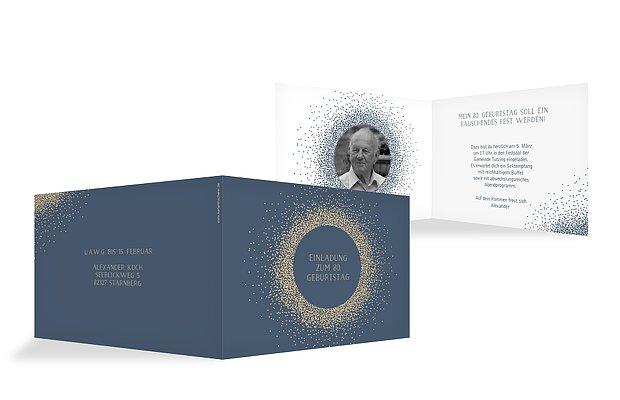 Einladung Zum 80 Geburtstag Einladungskarten Gestalten