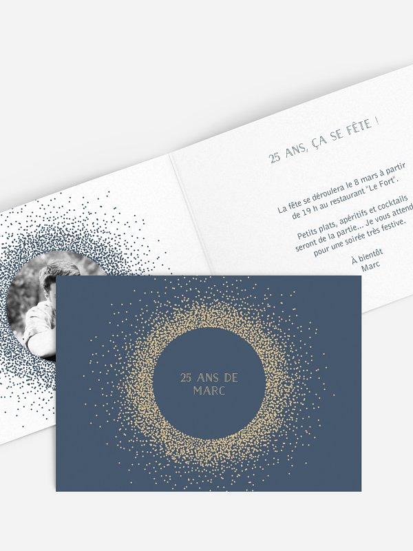 invitation anniversaire Magique