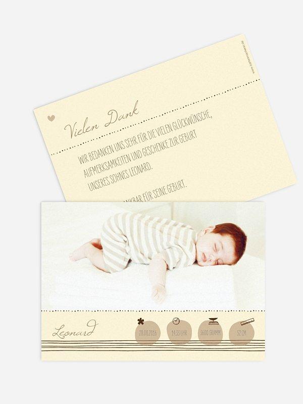 Geburtskarte Happy