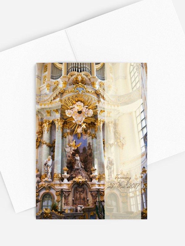 Kirchenheft Hochzeit Blickfang