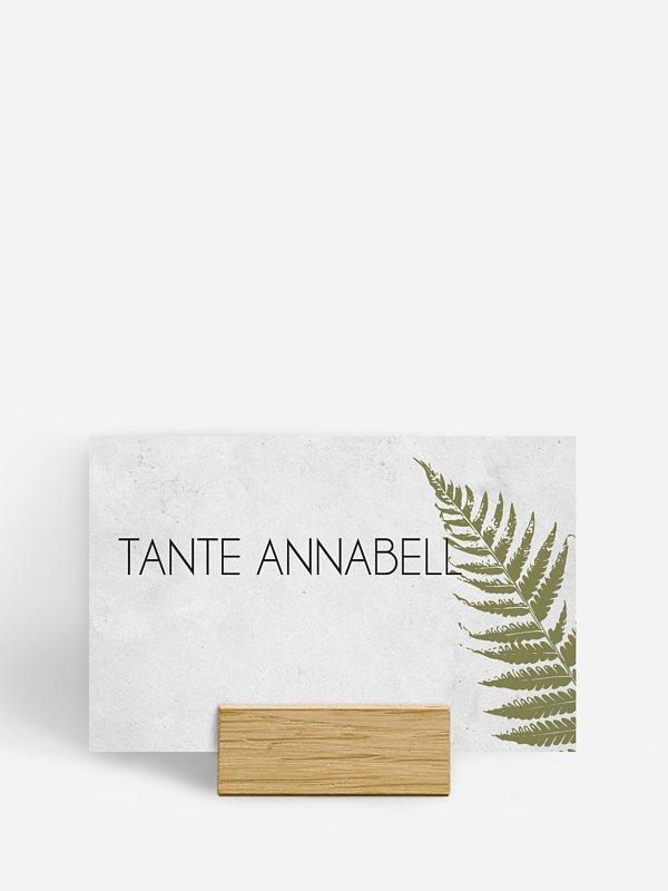 Tischkarte Hochzeit Industrial Art
