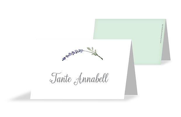 Tischkarte Hochzeit Herbal Bouquet