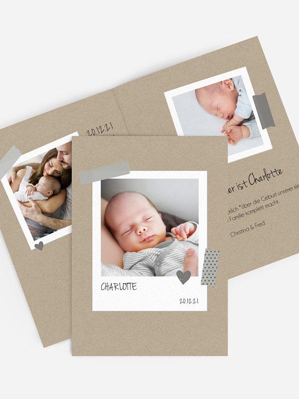 Geburtskarte Schöne Momente