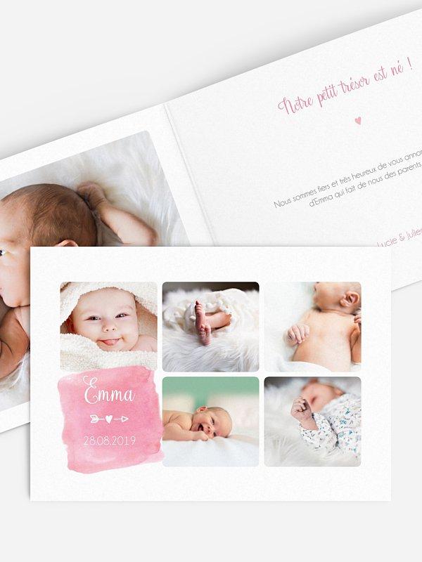 Faire-part naissance Jolies photos