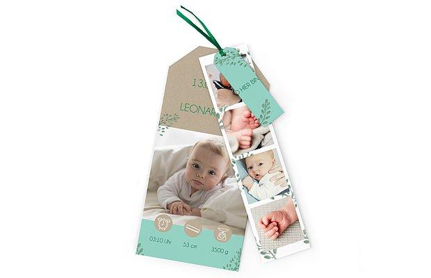 Geburtskarte Magic Moment