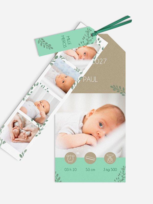 Faire-part naissance Moment magique