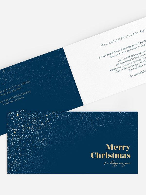 Weihnachtsfeier Sternenstaub