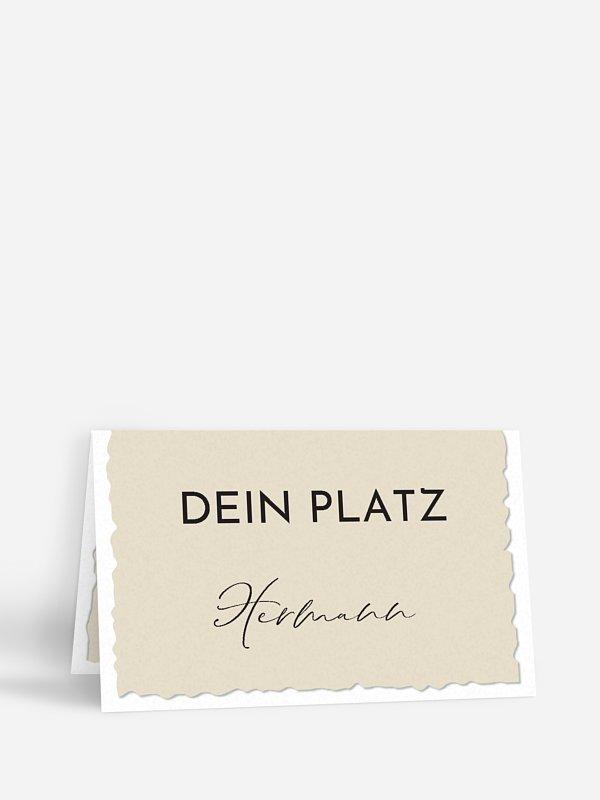 Tischkarte Geburtstag Schnappschuss