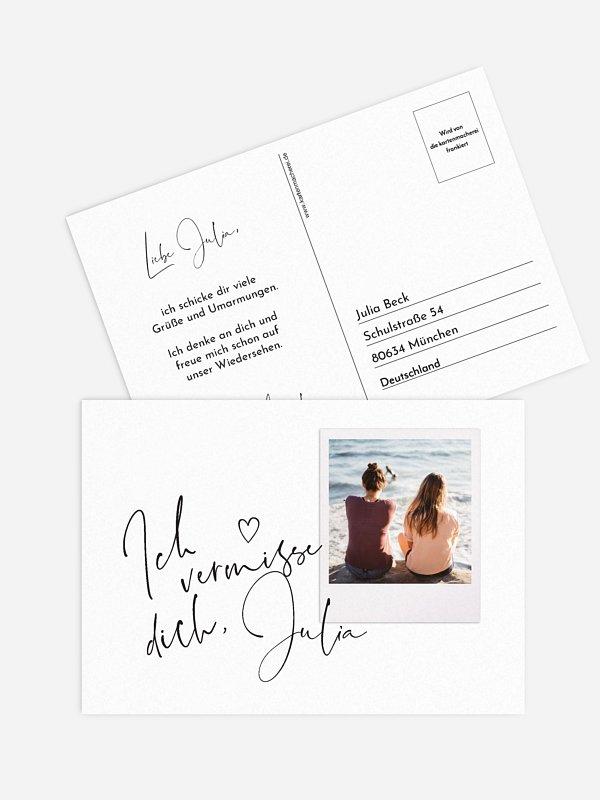 Postkarte Direktversand Sehnsucht