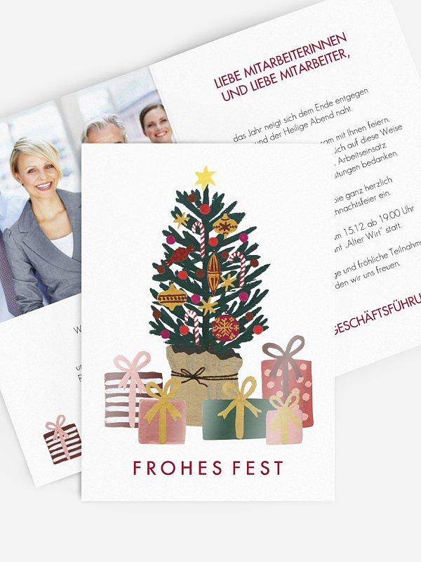 Weihnachtsfeier Christmas Gift Tree