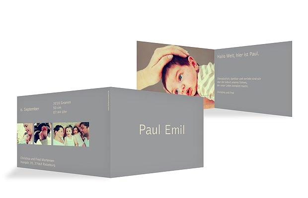 """Geburtskarten """"Farbreich"""""""