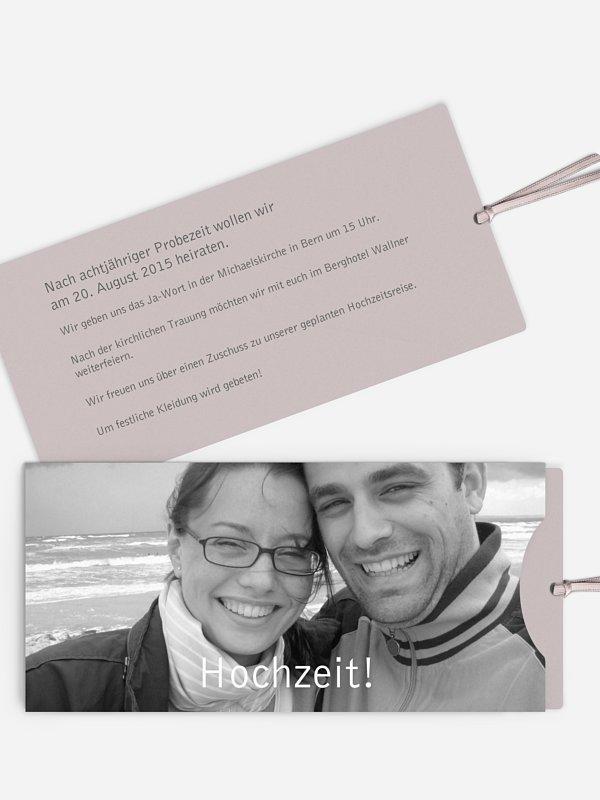 Hochzeitseinladung Farbreich