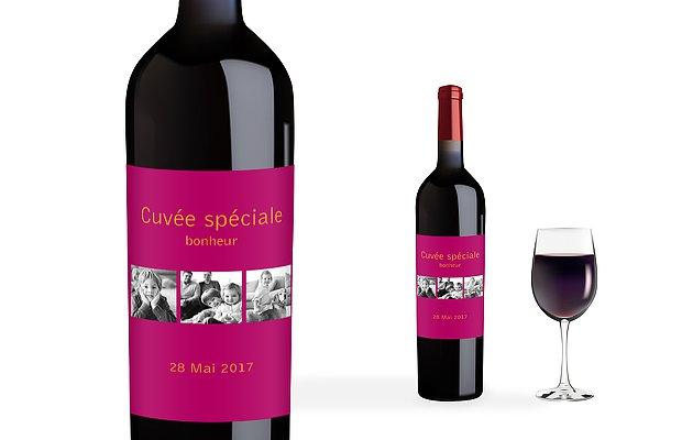 """Extrem Étiquette pour vin """"Coloré"""" DQ71"""