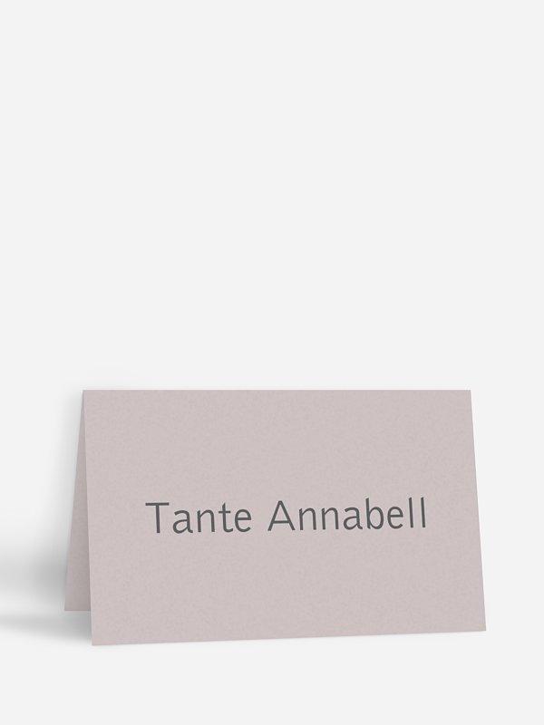 Tischkarte Hochzeit Farbreich
