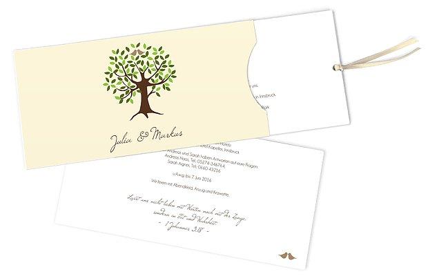 Text Hochzeit Baum