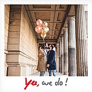 """Einladung zur Hochzeit """"Polaroid"""""""