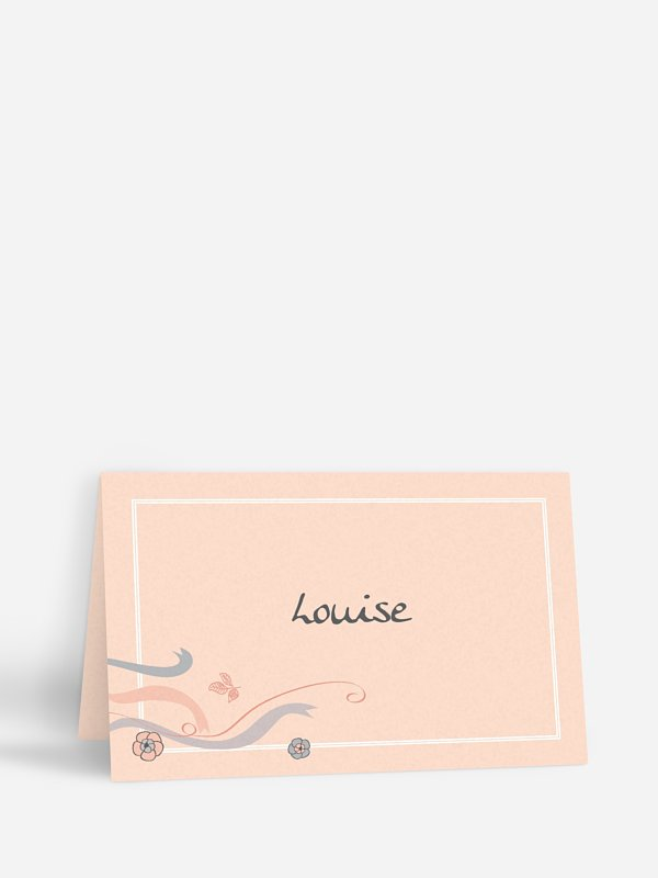Marque-place mariage Tandem