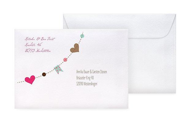 Briefumschlag Beschriften Zum Geburtstag : Briefumschlag bedruckt quot festive