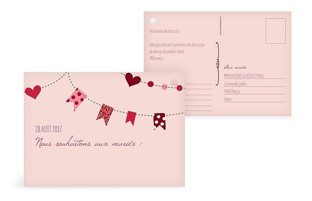 carte pour ballon festif - Lacher De Ballons Mariage