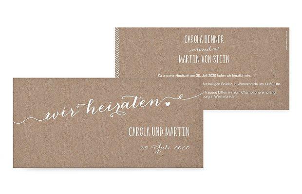 Hochzeitseinladung kalligrafie - Hochzeitseinladung text modern ...