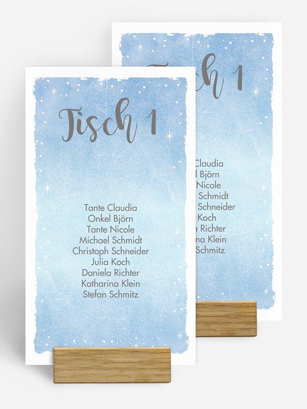 Gruppentischkarte Frozen