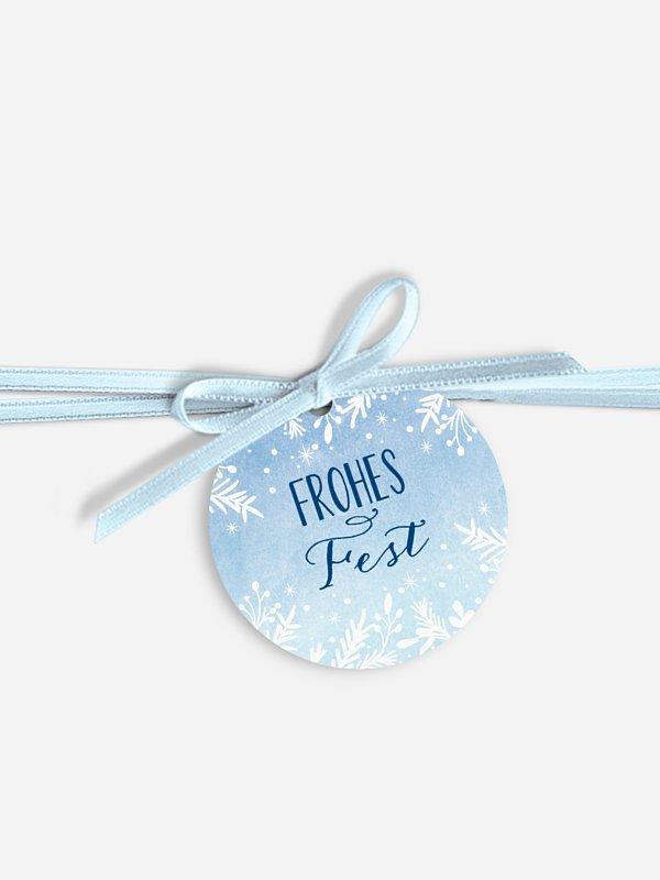 Geschenkeanhänger Frozen