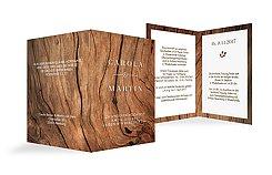 Hochzeitskarten individuelle karten zur hochzeit for Hochzeitseinladung holz