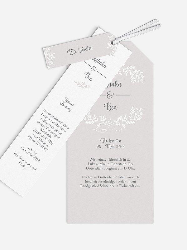 Hochzeitseinladung Leaves of Love