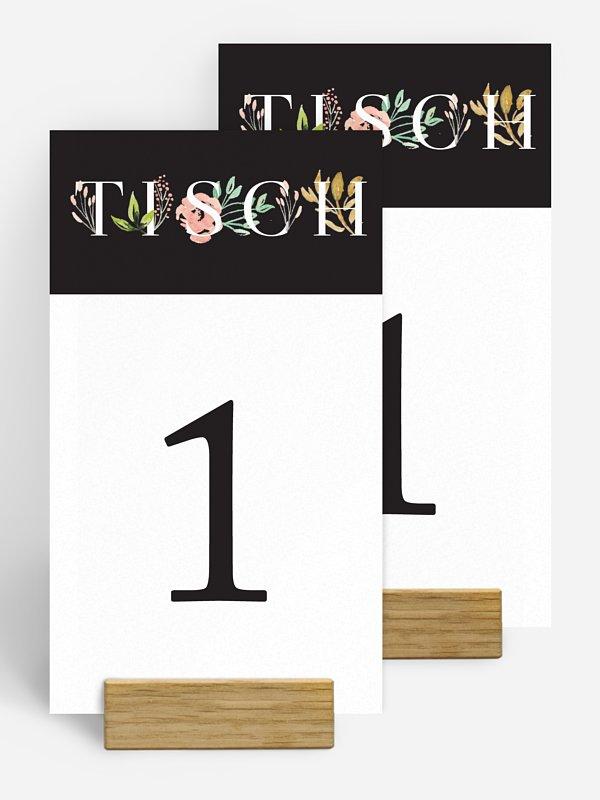 Tischnummer Florentina