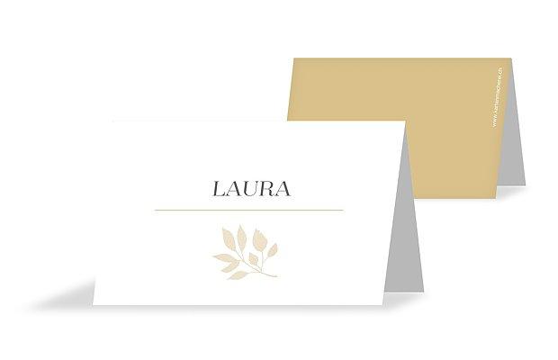 Tischkarte Hochzeit Versailles