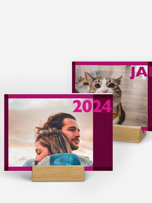 Fotokalender Blöcke