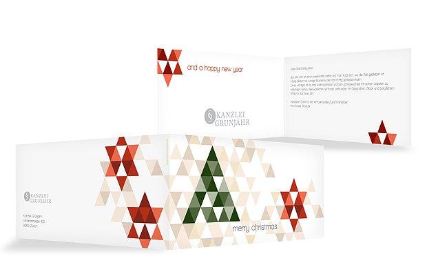 Weihnachtskarten modern christmas - Moderne weihnachtskarten ...