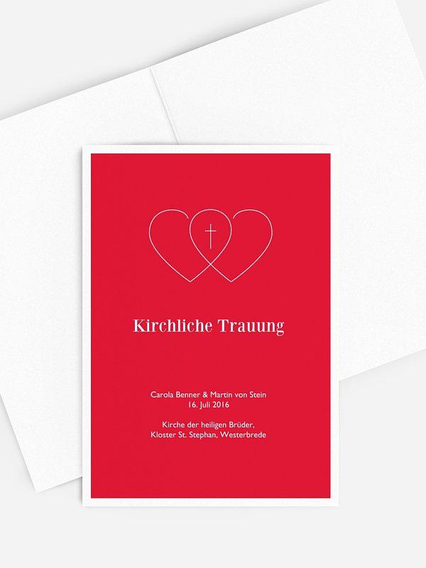 Kirchenheft Hochzeit Herzenssache