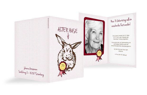 Einladung Zum 70. Geburtstag: Einladungskarten Gestalten, Einladung