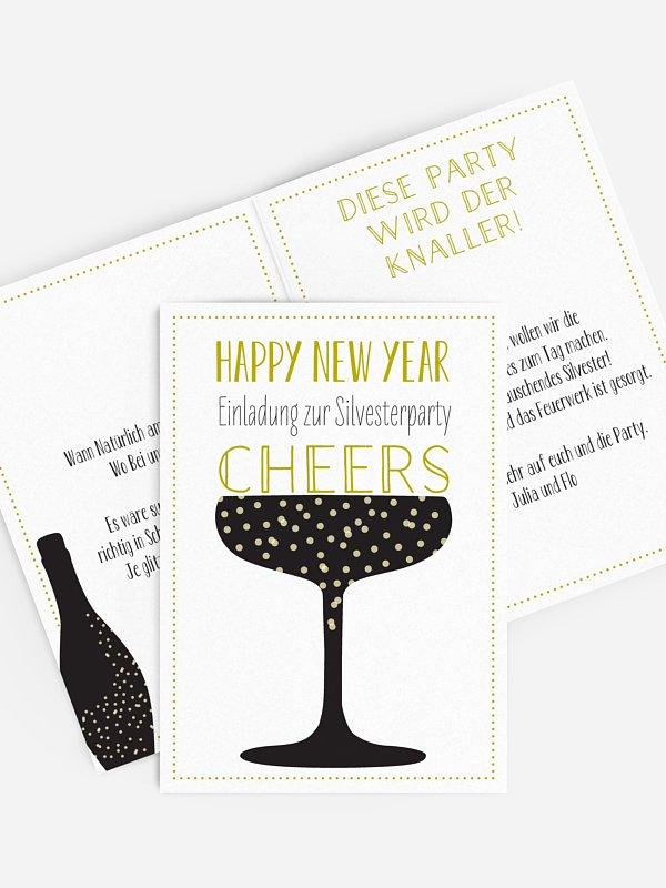 Partyeinladung Cheers