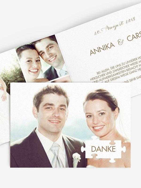 Dankeskarte Hochzeit Perfect Pair