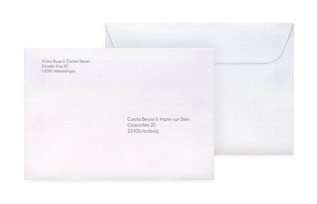 Briefumschlag Bedruckt Gestaltungsfreiheit