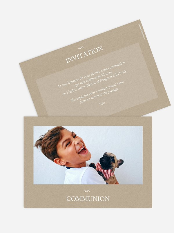 Invitation communion Bénédiction