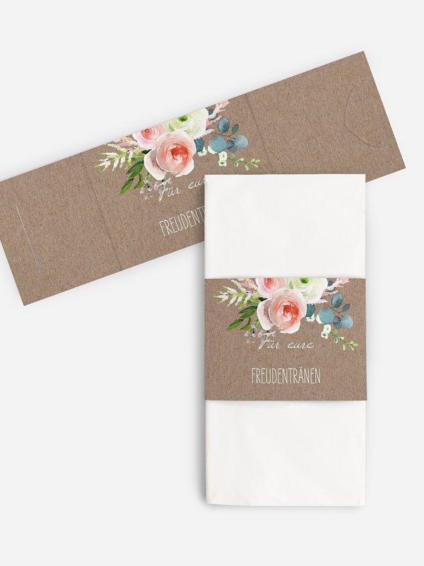 Freudentränen-Taschentücher Romanze