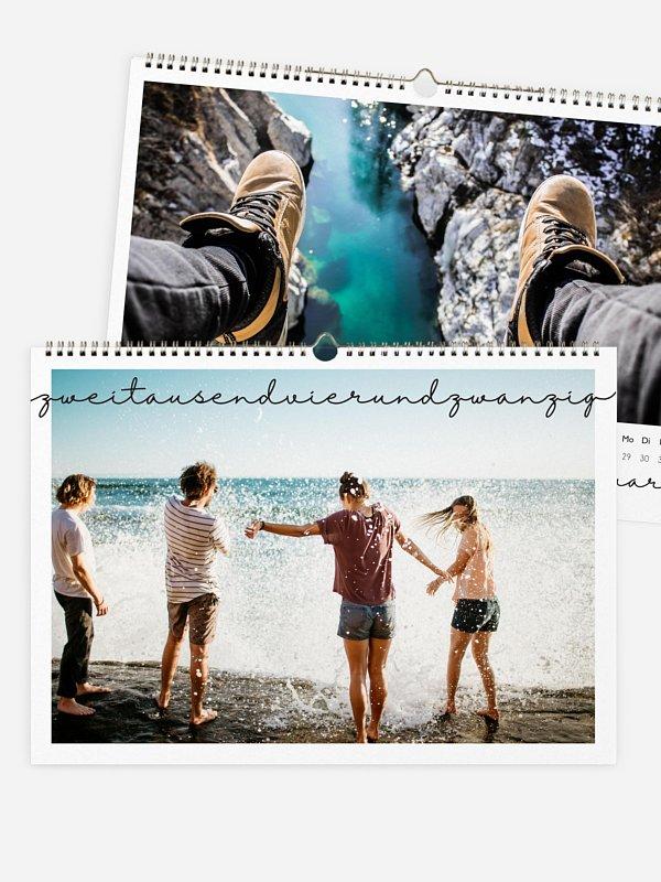 Wandkalender Lichtjahr