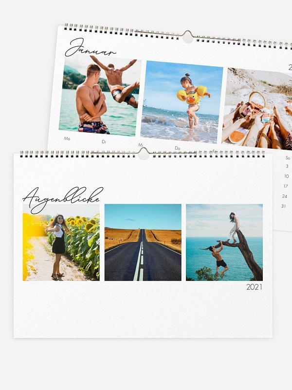 Wandkalender Augenblicke