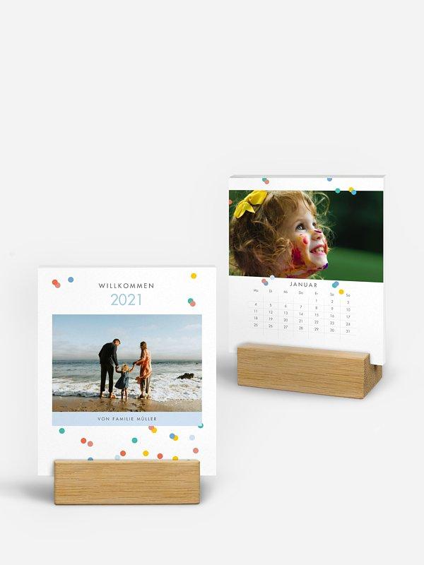Fotokalender Konfetti-Regen