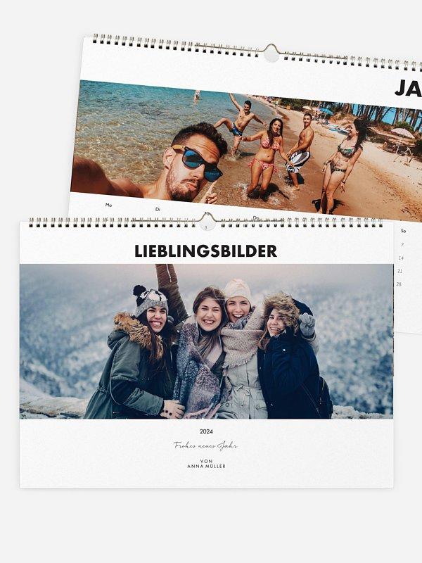 Wandkalender Unsere Momente