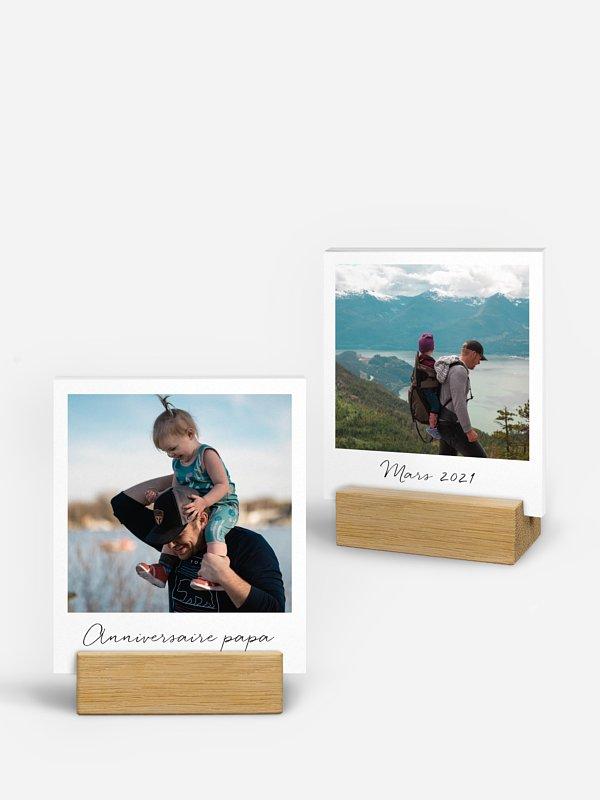 Porte-photos Photo polaroid