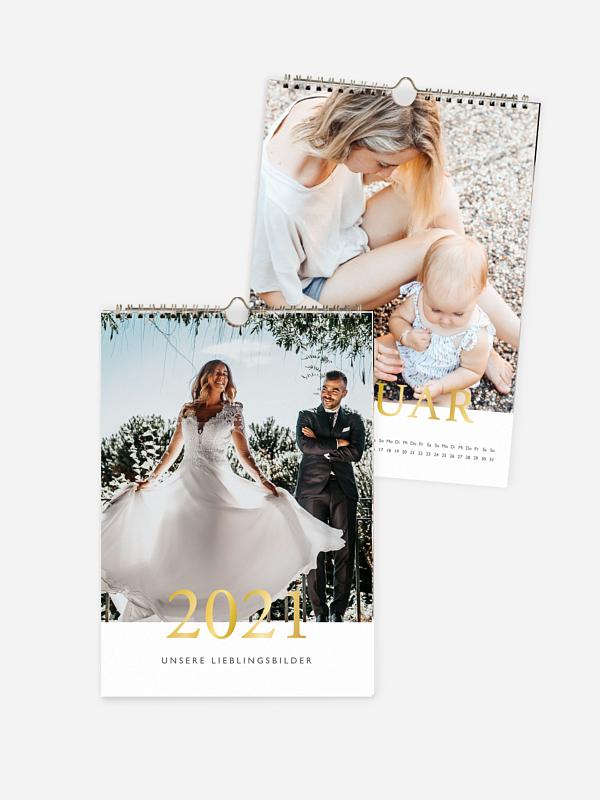 Wandkalender Lieblingsjahr Premium