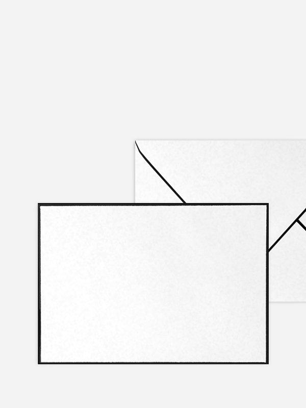 Briefumschlag rechteckig