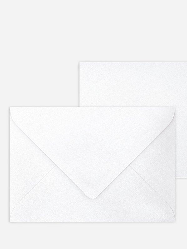 Briefumschlag mittel mit Spitzklappe