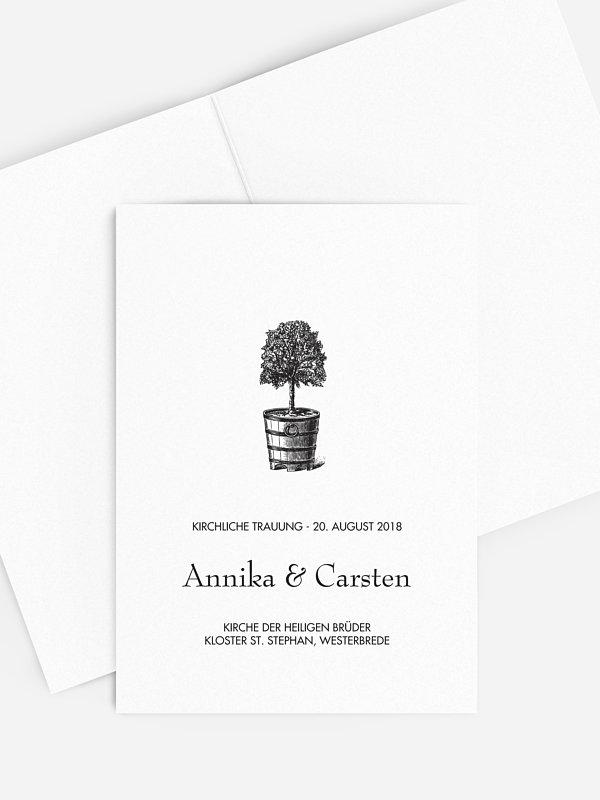 Kirchenheft Hochzeit Eternal Tree