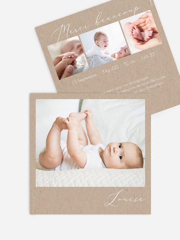 Faire-part naissance Petit miracle